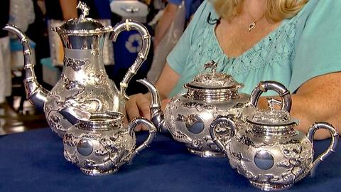 Antiques Roadshow -- S18 Ep17: Appraisal: Chinese Export Silver Tea & Coffee Serv