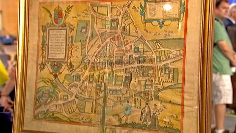 Antiques Roadshow -- S18 Ep17: Appraisal: 1575 Map of Cambridge