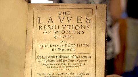 Antiques Roadshow -- S18 Ep17: Appraisal: 1632 Book on Women's Rights