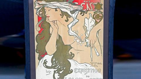 Antiques Roadshow -- S18 Ep17: Appraisal: 1896 Alphonse Mucha Poster