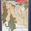 Appraisal: 1896 Alphonse Mucha Poster