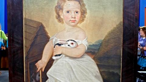 Antiques Roadshow -- S18 Ep17: Appraisal: Folk Art Portrait of a Child, ca. 1825