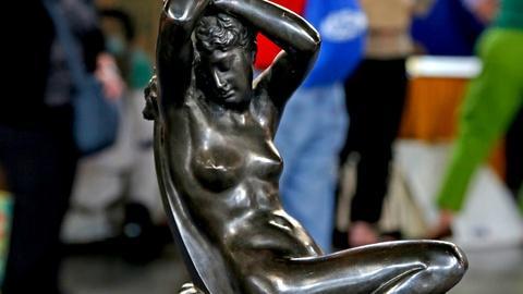 Antiques Roadshow -- S18 Ep17: Appraisal: Séraphin Denéchau Bronze Sculpture, ca.
