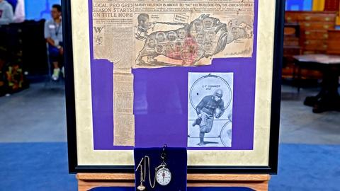 Antiques Roadshow -- S18 Ep18: Appraisal: 1924 NFL Championship Fob with Watch