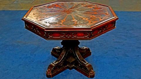 Antiques Roadshow -- S18 Ep18: Appraisal: Gothic Revival Center Table, ca. 1850