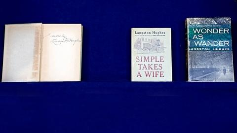 Antiques Roadshow -- S18 Ep18: Appraisal: Langston Hughes Signed First Edition Bo