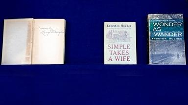 Appraisal: Langston Hughes Signed First Edition Books