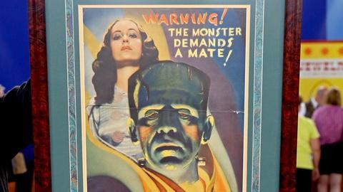 "Antiques Roadshow -- S18 Ep18: Appraisal: 1935 ""Bride of Frankenstein"" Pressbook"