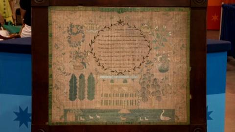 Antiques Roadshow -- S18: Web Appraisal: 1825 New Jersey Sampler