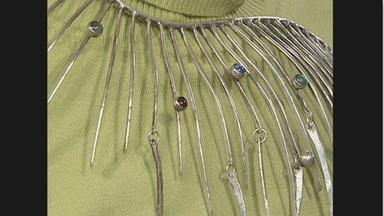 Appraisal: Art Smith Silver Necklace, ca. 1960