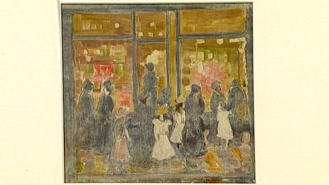 Antiques Roadshow -- S18 Ep25: Appraisal: Maurice Brazil Prendergast Color Monoty