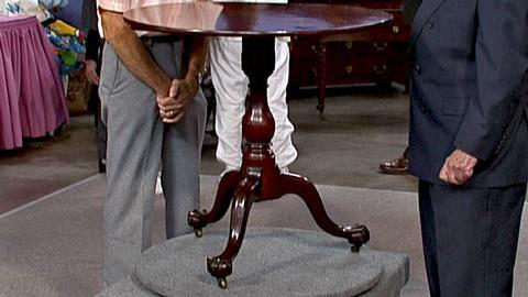 Antiques Roadshow -- S18 Ep25: Appraisal: New York Tea Table, ca. 1765