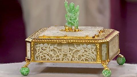 Antiques Roadshow -- S18 Ep25: Appraisal: Edward Farmer Jade and Gold Box