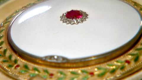 Antiques Roadshow -- S18 Ep25: Appraisal: Cartier Ruby & Diamond Compact