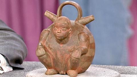 Antiques Roadshow -- S18 Ep25: Appraisal: Pre-Columbian Stirrup Vessel