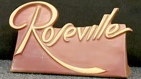 Antiques Roadshow -- S18 Ep25: Appraisal: Roseville Pottery Sign, ca. 1940