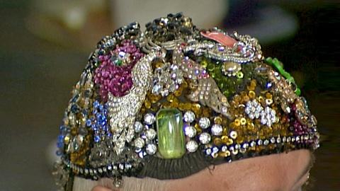 Antiques Roadshow -- S18 Ep26: Appraisal: Costume Jewelry Hat, ca. 1950
