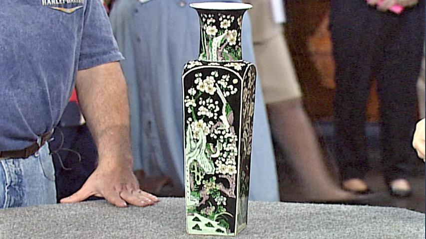 Antiques Roadshow Appraisal Kangxi Style Vase Ca 1880 Twin