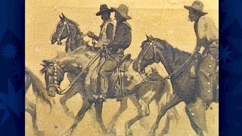 "Antiques Roadshow -- S18 Ep26: Appraisal: 1907 William Herbert ""Buck"" Dunton Oil"