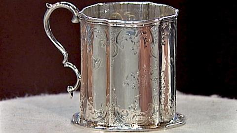 Antiques Roadshow -- S18 Ep26: Appraisal: William Forbes Silver Can, ca. 1850