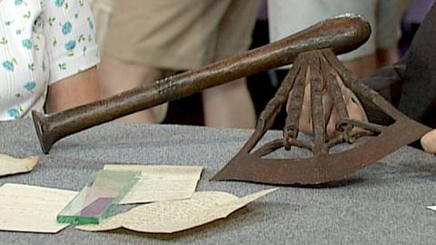 Antiques Roadshow -- S18 Ep26: Appraisal: Songye Tribal Axe, ca. 1900