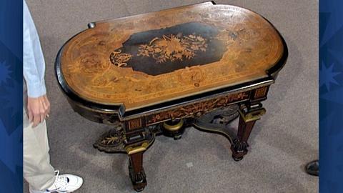 Antiques Roadshow -- S18 Ep26: Appraisal: Renaissance Revival Parlor Table