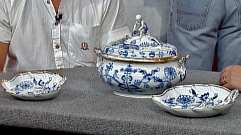 Antiques Roadshow -- S18 Ep26: Appraisal: Meissen Porcelain Set, ca. 1920