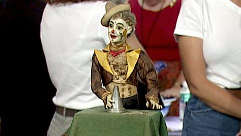 Antiques Roadshow -- S18 Ep26: Appraisal: Lambert Clown Magician Automaton, ca. 1