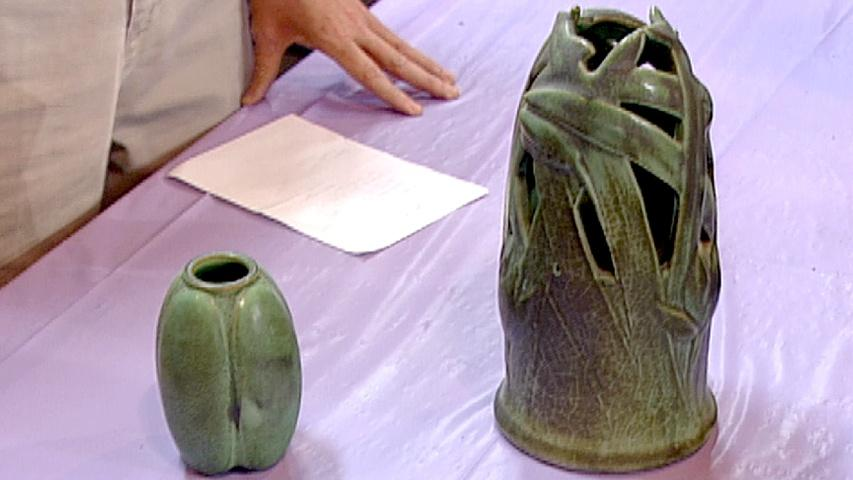 Antiques Roadshow Appraisal Teco Pottery Vases Twin Cities Pbs