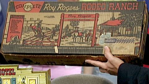 Antiques Roadshow -- S18 Ep27: Appraisal: Marx Roy Rogers Playset, ca. 1950
