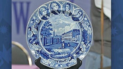 Antiques Roadshow -- S18 Ep27: Appraisal: Staffordshire Historical Plate