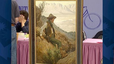 Antiques Roadshow -- S18 Ep27: Appraisal: 1912 Maynard Dixon Oil Painting