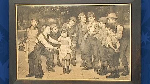 Antiques Roadshow -- S18 Ep27: Appraisal: 1881 John George Brown Print