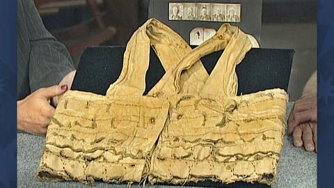 Antiques Roadshow -- S18 Ep27: Appraisal: Gold Rush Money Vest, ca. 1849