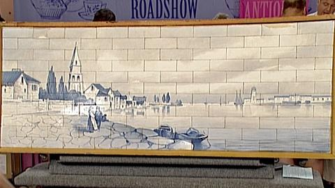 Antiques Roadshow -- S18 Ep27: Appraisal: A.E. Tile Co. Panel, ca. 1920