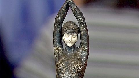 """Antiques Roadshow -- Appraisal: Demetre Chiparus Bronze Figure, """"Starfish"""""""