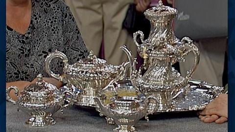 Antiques Roadshow -- S18 Ep28: Appraisal: Indian Colonial Silver Tea Service
