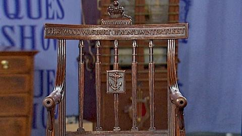 Antiques Roadshow -- S18 Ep28: Appraisal: British Naval Chair, ca. 1810