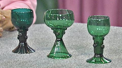 Antiques Roadshow -- S18 Ep28: Appraisal: Green Glass Roemers Reproductions