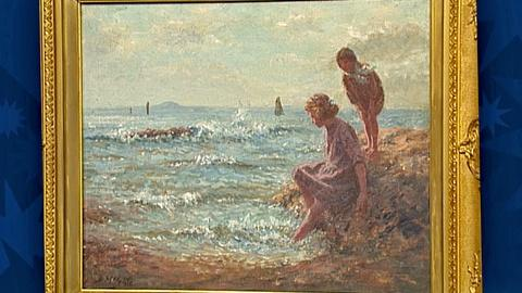 Antiques Roadshow -- S18 Ep28: Appraisal: John McGhie Oil Painting, ca. 1915