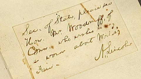 Antiques Roadshow -- S18 Ep29: Appraisal: Autograph Album, ca. 1850