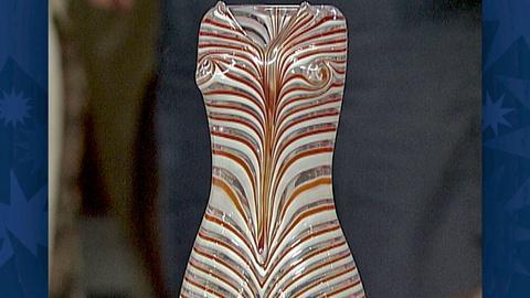 Antiques Roadshow -- Appraisal: Paolo Venini Art Glass Vase