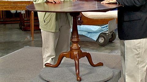 Antiques Roadshow -- S18 Ep29: Appraisal: Eliphalet Chapin Tea Table, ca. 1770