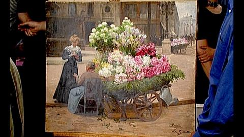 Antiques Roadshow -- S18 Ep29: Appraisal: Victor Gilbert Painting, ca. 1890