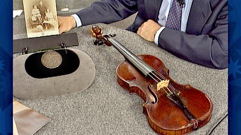 Antiques Roadshow -- S18 Ep29: Appraisal: 1877 Charles Francis Albert Violin