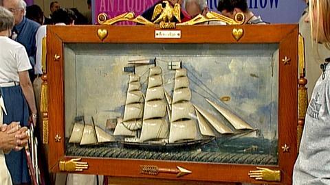 Antiques Roadshow -- S18 Ep29: Appraisal: Clipper Ship Diorama, ca. 1890