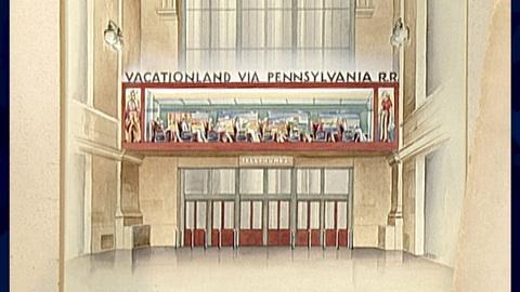 Antiques Roadshow -- Appraisal: R. Loewy Railroad Renderings