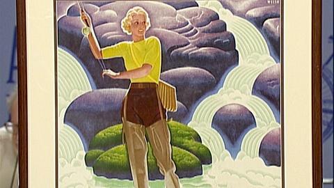 Antiques Roadshow -- Appraisal: 1934 Art Deco Travel Posters