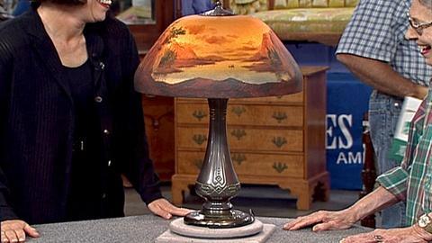Antiques Roadshow -- Appraisal: Moe-Bridges Table Lamp, ca. 1900