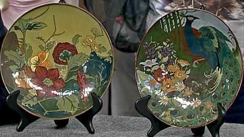Antiques Roadshow -- Rozenburg Pottery Plaques, ca. 1900